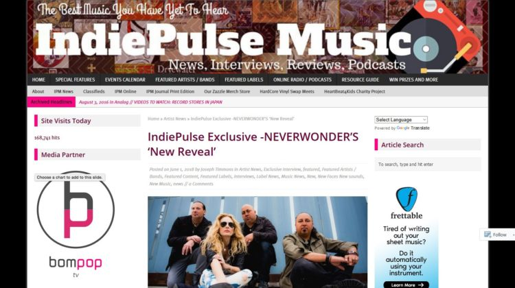 IndiePulse Exclusive - NEVERWONDER'S 'New Reveal'