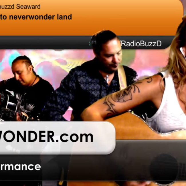 RadioBuzzD - NEVERWONDER for a live interactive video performance - 14 JUL 2018