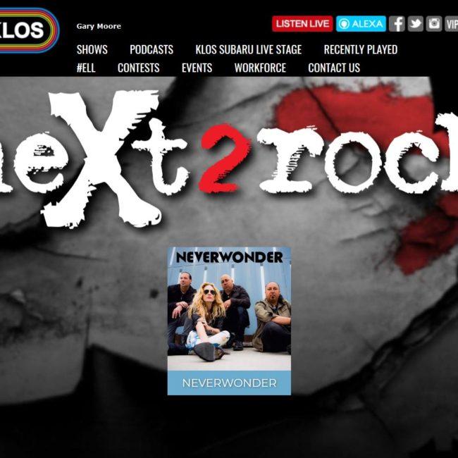 neXt2rock 2018 KLOS FM Neverwonder