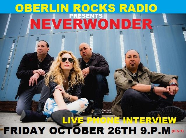 Oberlin Rocks Radio Interview-Neverwonder-26 OCT 2018