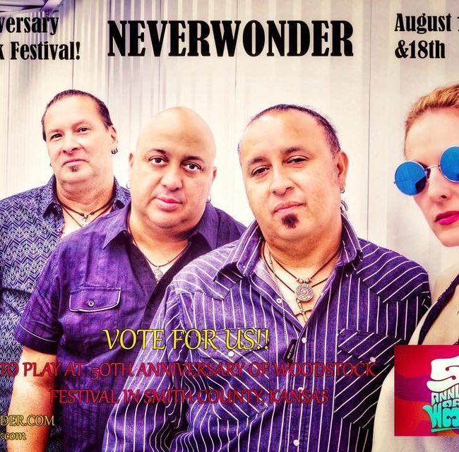 Vote NEVERWONDER for Woodstock 50th Anniversary Festival