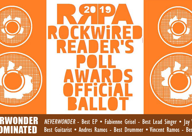 Rockwired Reader's Poll Awards 2019 - 13 DEC 2018