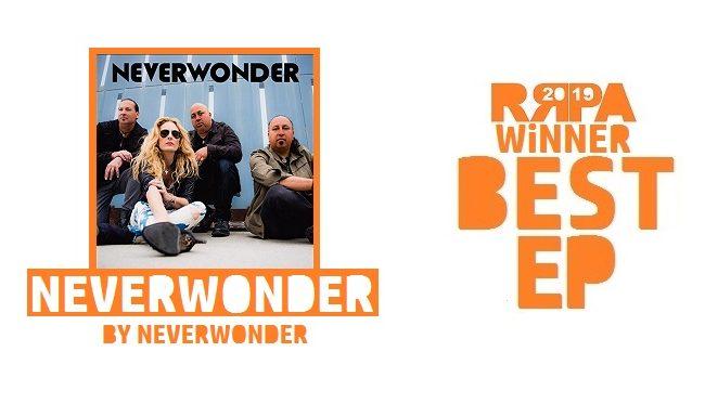 Rockwired Reader's Poll Award 2019 WINNER - Best EP - Neverwonder