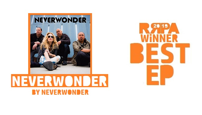 Rockwired Reader's Poll Award 2019 WINNER - Best EP - Neverwonder