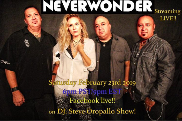 Neverwonder on the Underground Live Show with DJ Steve O - 23 FEB 2019