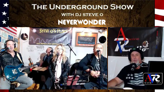 NEVERWONDER on the Underground Live Show with DJ Steve-O - 23 FEB 2019