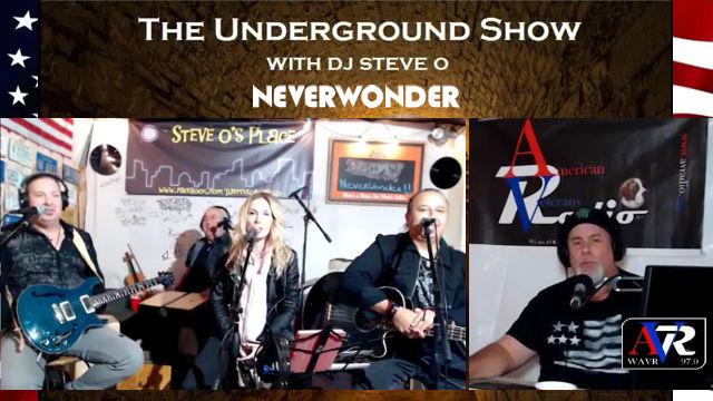 NEVERWONDER on the Underground Live Show with DJ Steve-O - 23 FEB 2019