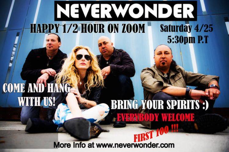 Neverwonder Happy Hour on Zoom